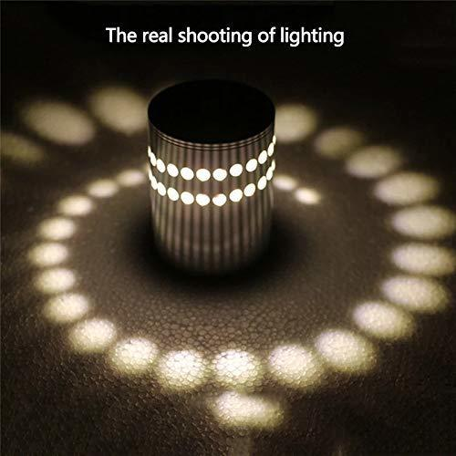 3W, Spiral Decorative Wall lamp Led (White)
