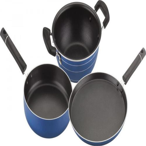 3 Pieces Non Stick Cookware Set
