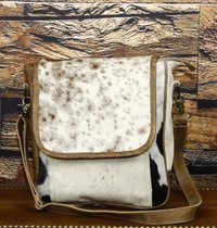 hair on leather bags