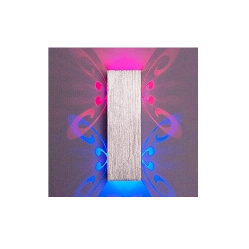 6W Double Butterfly Wall Lamp (Blue + Pink)