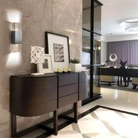 6W Rectangle Transparent Wall Led Lamp (Warm White)