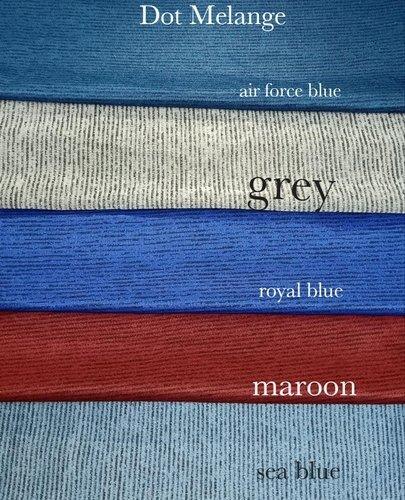 Polyester Dot Melange Fabric