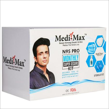Medi-Max N95 Pro Monthly Super Secure Kit
