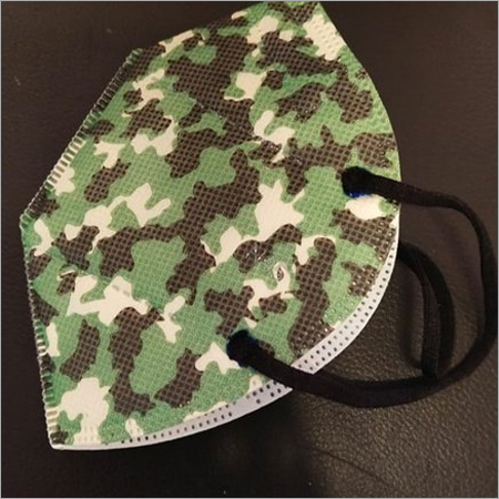 Medi-Max Army Military DRDO Certified Face Mask With 5 Layers