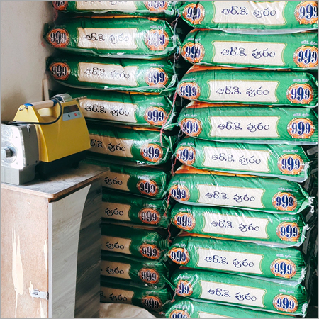 Packed Rice in Mill