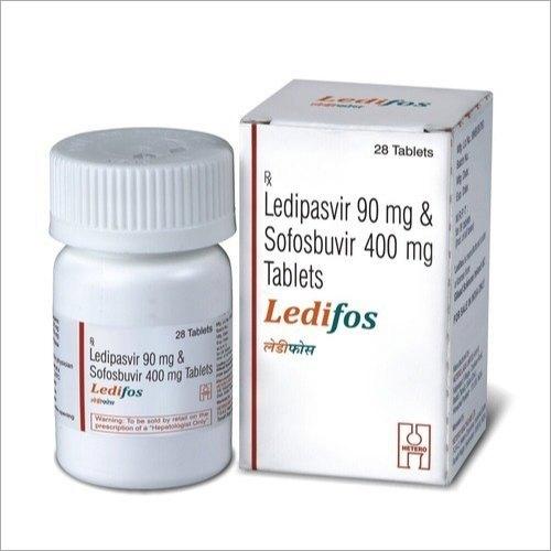 90mg Ledipasvir And 400 mg Sofosbuvir Tablets