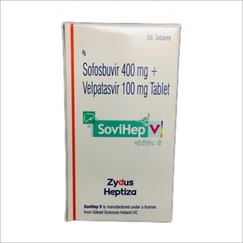 400 mg Sofosbuvir 100 mg Velpatasvir Tablet