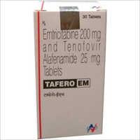 200 mg Emtricitabine And 25 mg Tenofovir Alafenamide Tablets