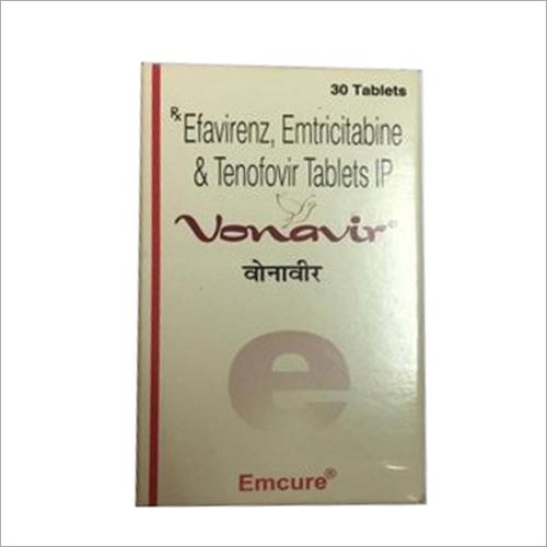Efavirenz Emtricitabine and Tenofovir Tablets IP