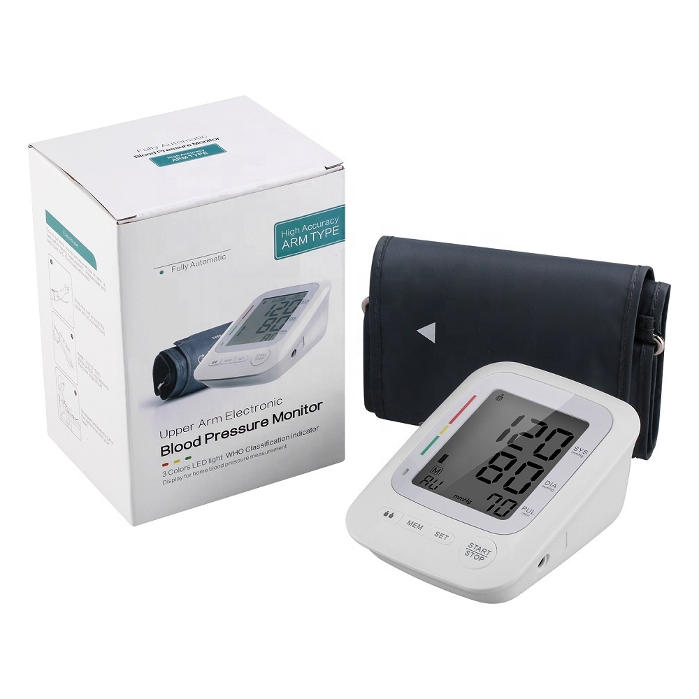 Electric Smart Upper Arm Digital Blood Pressure Monitor Arm Type