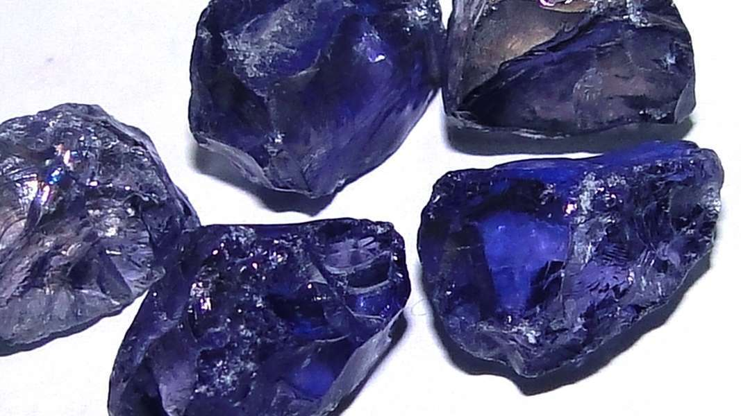 Rough And Cut Gemstones
