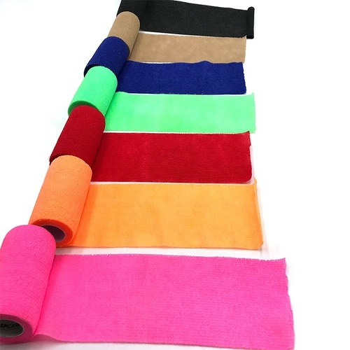 7.5CM*4.5M vet wrap waterproof elastic wrap bandage