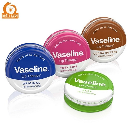 Vaseline Lip Therapy Aloe Vera Tin
