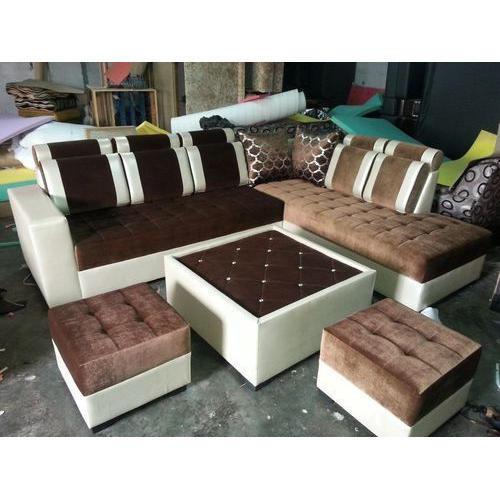 8 Seater L Shaped Sofa Set