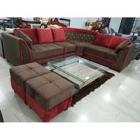 Fancy L Shaped Sofa Set