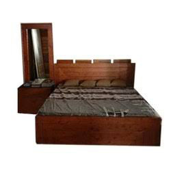 Sheesham Deewan Bed With Side Table