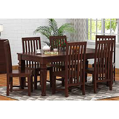 Bihar Timber Sheesam Dinimg Table With 6 Chairs