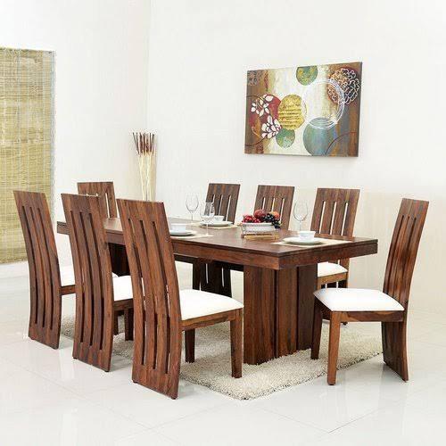 Bihar Timber Sheesam Wooden With Foam Chairs