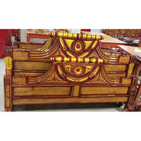 Desinger Wooden Double Bed Headboard
