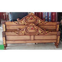 Double Bed Box Headboard