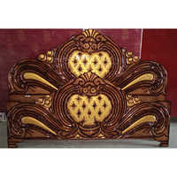 Solid Wood Bed Headboard