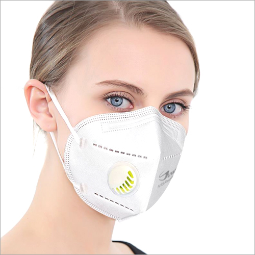 N 95 Respirator Face Mask With Valve