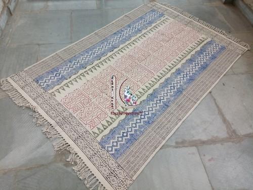 New african print handmade flooring mat