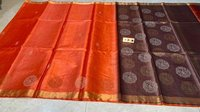 Silk Handloom Hand Border Saree