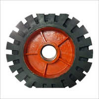 Solid Rubber Harrow Wheel