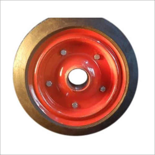 12 Inch Solid Trolley Wheel