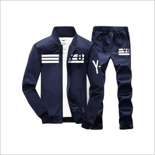 Mens Cotton Zipper Tracksuit