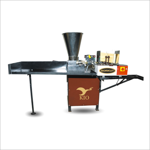 KIO Fully Automatic Churan Borkut Stick Making Machine