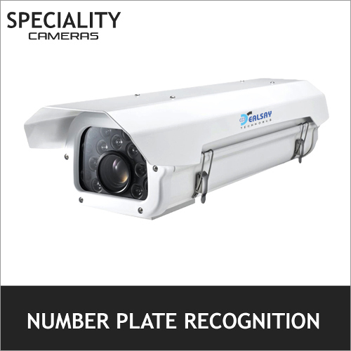 Number Plate Recognition Camera