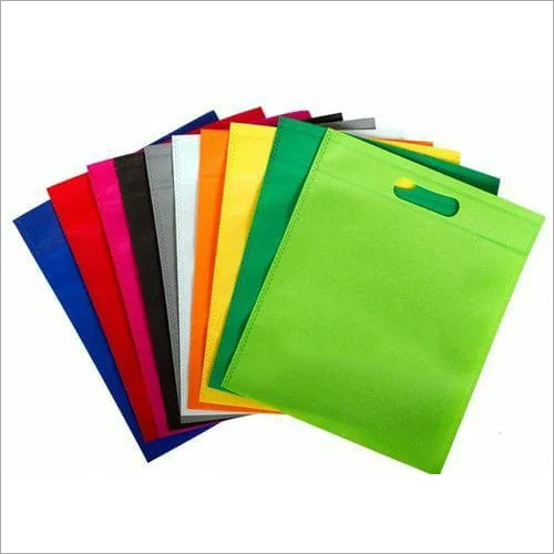 D Cut Non Woven Plain Carry Bag