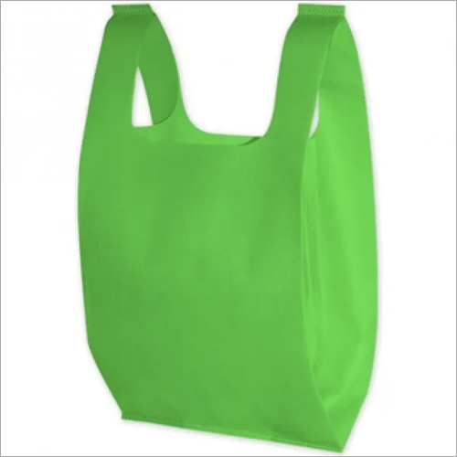 Green Non Woven Carry Bag