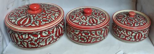Donga set with Lid