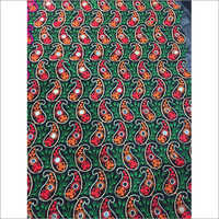 Cotton Mirror Work Fabric