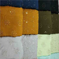 Embroidered Georgette Fabric