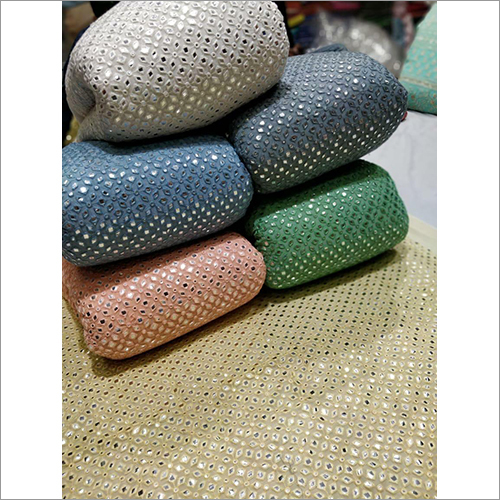 Fancy Dyable Embroidery Fabric