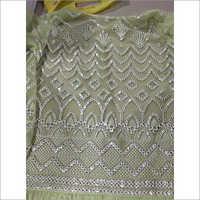 Fancy Gota Pati 54 Embroidered Georgette Fabric