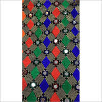 Mirror Work Georgette Fabric