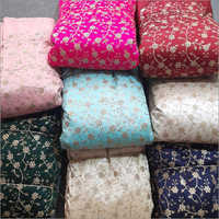 Multiberry Embroidered Fabric
