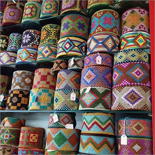 Multi-color Embroidery Lace