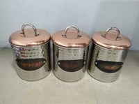 Canister (For Tea Suger & Coffe)
