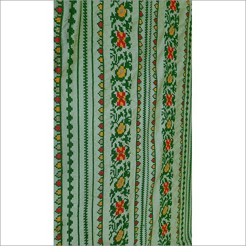 Cross Stylish Embroidery Fabric