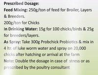 Probchick Poultry Probiotics