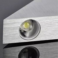 9W Led (Convex Lens) Triangle Wall Lamp (Warm White)