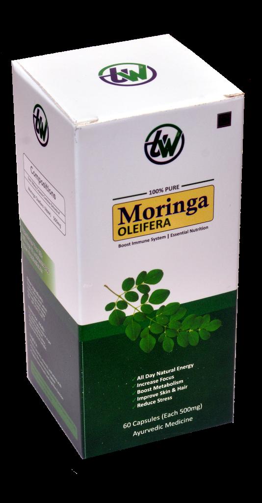 500 mg Moringa Capsules