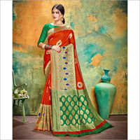 Ladies Banarasi Bridal Saree