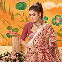 Ladies Fancy Banarasi Saree